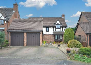 Thumbnail 4 bedroom detached house for sale in Olympia Close, East Hunsbury, Northampton