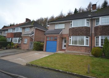 Thumbnail 1 bed semi-detached house to rent in Hafod Cwnin, Carmarthen