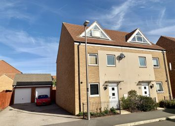 Thumbnail 3 bedroom semi-detached house for sale in Highland Drive, Broughton, Milton Keynes