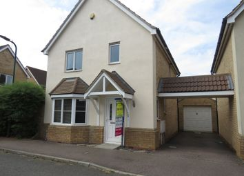 Thumbnail 3 bed detached house for sale in Clement Drive, Peterborough