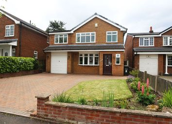 Thumbnail 4 bed detached house for sale in Gawsworth Close, Poynton, Stockport, Cheshire