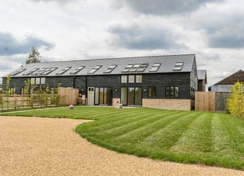 Thumbnail 5 bed barn conversion to rent in Church Street, Haslingfield, Cambridge