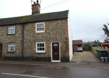 Thumbnail 2 bed end terrace house for sale in Feltwell, Thetford, Norfolk