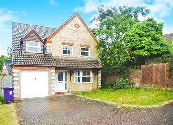 Thumbnail 4 bedroom detached house for sale in Fieldfare Way, Royston