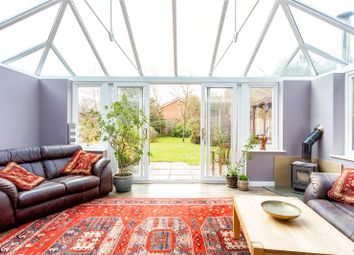 Thumbnail 5 bedroom detached bungalow for sale in Woolton Hill, Newbury, Berkshire