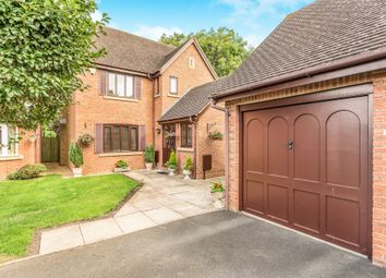 Thumbnail 4 bed detached house for sale in Shepherd Close, Long Itchington, Southam