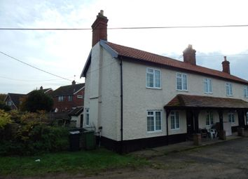 Thumbnail 2 bed semi-detached house for sale in 1 Hemsworth House, Norwich Road, Scoulton, Norwich