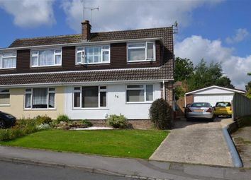 Thumbnail 3 bed semi-detached house for sale in Westwood Road, Newbury, Berkshire
