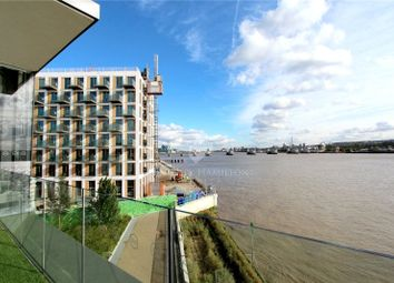 Thumbnail Studio for sale in John Cabot House, Royal Wharf, London