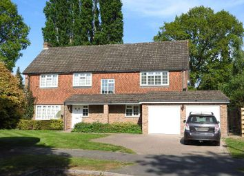 Thumbnail 5 bed detached house for sale in Squirrels Green, Bookham, Leatherhead