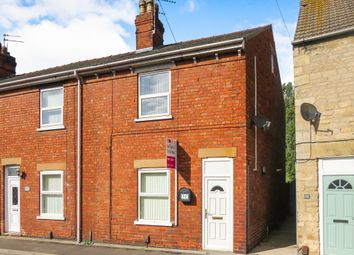 Thumbnail 2 bed end terrace house for sale in Main Road, Washingborough, Lincoln
