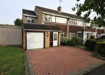 Thumbnail 4 bed end terrace house for sale in Magnolia Way, Pilgrims Hatch, Brentwood