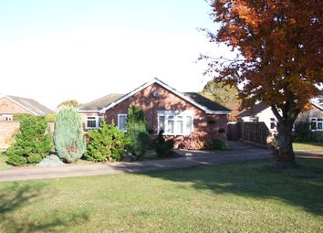 Thumbnail 3 bed detached bungalow for sale in Buxlow Close, Knodishall, Saxmundham