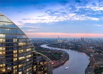 Thumbnail 1 bed flat for sale in The Spire, 2 Hertsmere Road, West India Quay, London