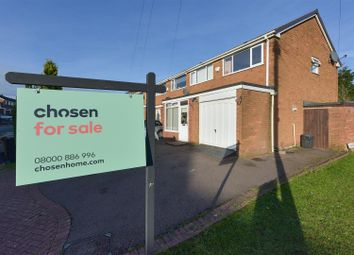 Thumbnail End terrace house for sale in Maxholm Road, Streetly, Sutton Coldfield