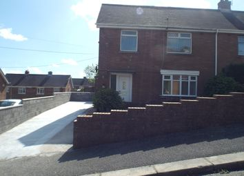 Thumbnail 3 bed semi-detached house to rent in Ffordd Aneurin, Pontyberem, Llanelli