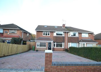 Thumbnail 4 bed semi-detached house for sale in Carisbrooke Way, Penylan, Cardiff