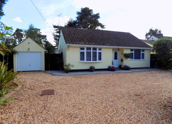 Thumbnail 3 bed detached bungalow for sale in Sandy Lane, St. Ives, Ringwood
