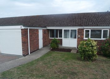 Thumbnail 3 bedroom terraced bungalow for sale in Lloyds Avenue, Kessingland, Lowestoft