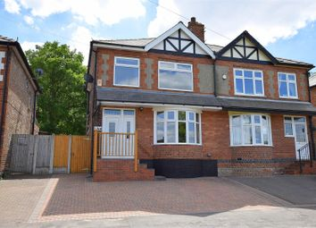 Thumbnail 3 bed semi-detached house for sale in Brookside Road, Breadsall Village, Derby