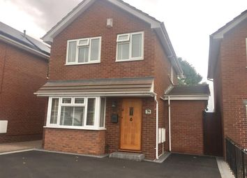 Thumbnail 3 bed detached house to rent in Sycamore Road, Kingsbury, Tamworth