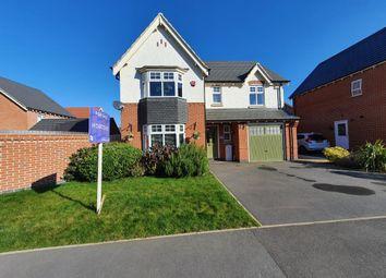 Poplar Gardens, Staffordshire, Burton-On-Trent DE13. 4 bed detached house for sale