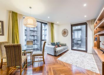 Thumbnail 2 bed flat for sale in Ambassador Building, Embassy Gardens, New Union Square, London