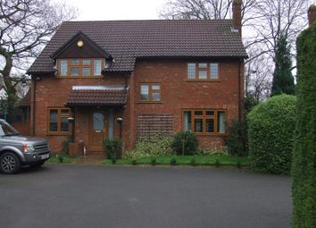 Thumbnail 4 bed detached house to rent in Croft Road, Wokingham