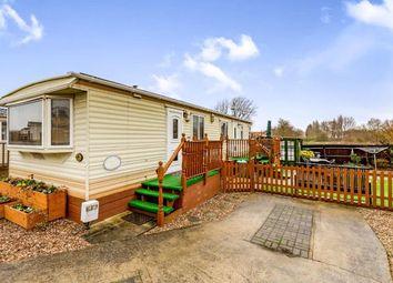 Thumbnail 2 bed mobile/park home for sale in Riverview Park, Station Road, Cogenhoe, Northampton
