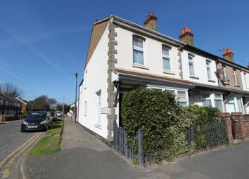 Thumbnail 3 bed end terrace house for sale in Gladstone Road, Deal