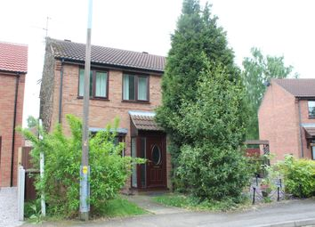 Thumbnail 2 bed semi-detached house for sale in Stenigot Road, Lincoln