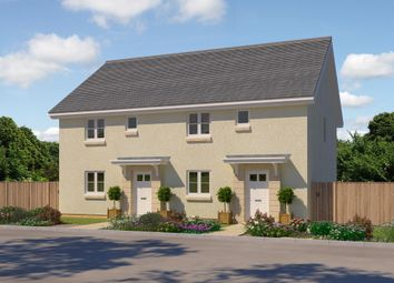 "Thumbnail 3 bed semi-detached house for sale in ""Bonnyton"" at Foxglove Grove, Cambuslang, Glasgow"