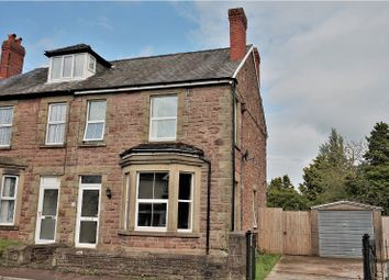 Thumbnail 3 bed semi-detached house for sale in Victoria Road, Lydney