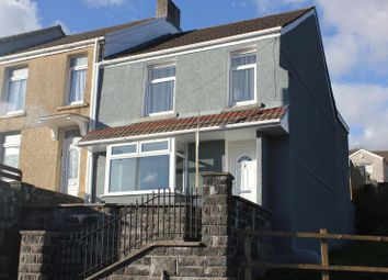 Thumbnail 3 bed terraced house for sale in Middle Road, Cwmbwrla, Swansea