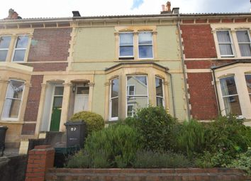 Thumbnail 3 bedroom terraced house to rent in York Road, Montpelier, Bristol