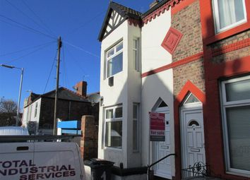 Thumbnail 2 bed end terrace house to rent in Willmer Road, Tranmere, Birkenhead