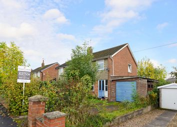 Thumbnail 1 bed semi-detached house for sale in Oldfield Road, Sandbach