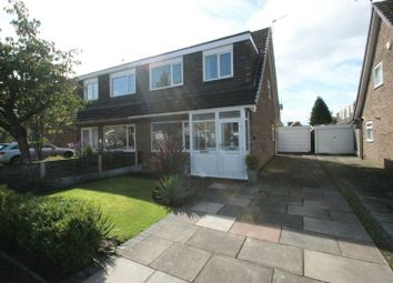 Thumbnail 3 bed semi-detached house for sale in Little Brook Road, Sale