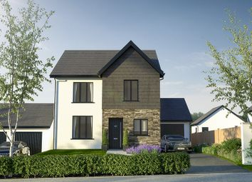 Thumbnail 4 bed detached house for sale in Cottrell Gardens, Bonvilston, Cardiff