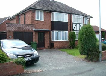 Thumbnail 1 bed flat to rent in Ennerdale Road, Tettenhall, Wolverhampton