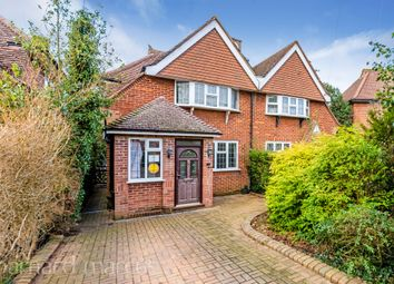 Thumbnail 2 bed semi-detached house for sale in Elm Gardens, Epsom