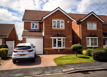 Thumbnail 4 bed detached house for sale in Kestrel Drive, Louth