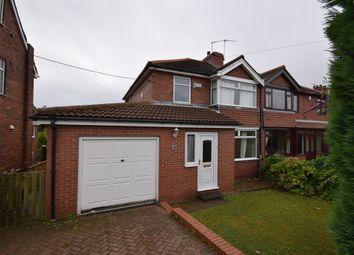 Thumbnail 3 bed semi-detached house to rent in Grange Lane, Burghwallis, Doncaster