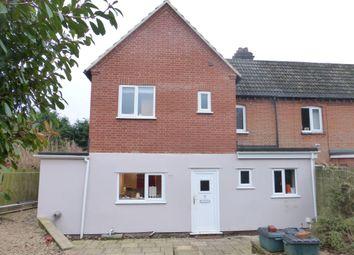 Thumbnail 3 bedroom semi-detached house for sale in Water Lane, Little Plumstead, Norwich