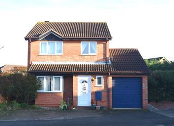 Thumbnail 3 bed detached house for sale in Kendal Close, Gunthorpe, Peterborough