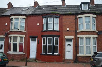 Thumbnail 2 bedroom terraced house to rent in 126 Birkenhead Road, Wallasey, Wirral