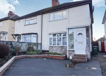 Thumbnail 3 bed semi-detached house for sale in Moreton Road, Bushbury, Wolverhampton