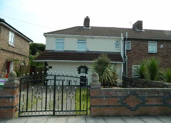 Thumbnail 3 bedroom end terrace house for sale in Birdwood Road, Liverpool