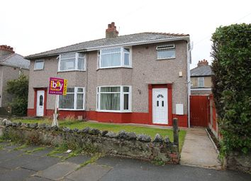 Thumbnail 3 bed semi-detached house for sale in Heysham Mossgate Road, Heysham, Morecambe
