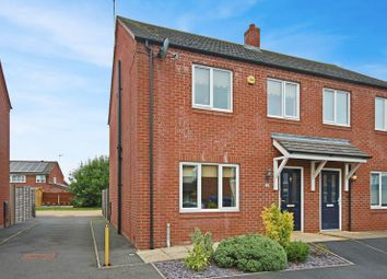 Thumbnail 3 bed semi-detached house for sale in Draycott Close, Market Drayton
